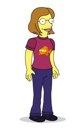 """La """"Simpson"""" puce"""